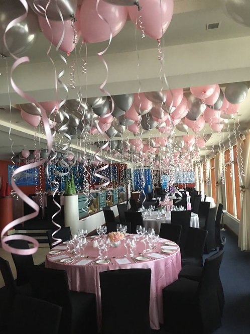 Pink/Grey Event Decoration