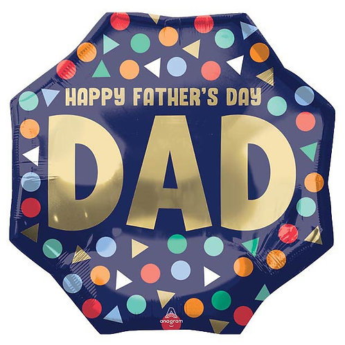 36inch Happy Fathers Day Balloon