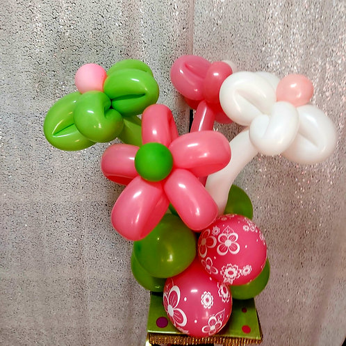 Balloon Flower Centerpiece