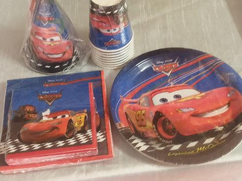 8 pc Cars Lighting McQueen Set