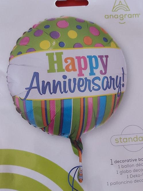 18inch Anniversary  Balloon