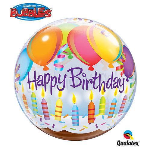 22inch Bubble Birthday Balloon