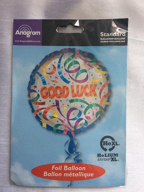 18inch 'Good Luck' Mylar Balloon
