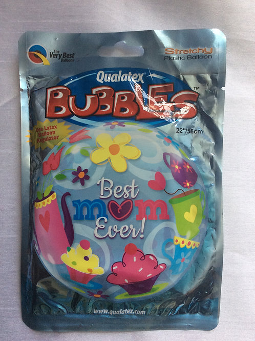 Best Mom Ever 'Bubble Balloon'