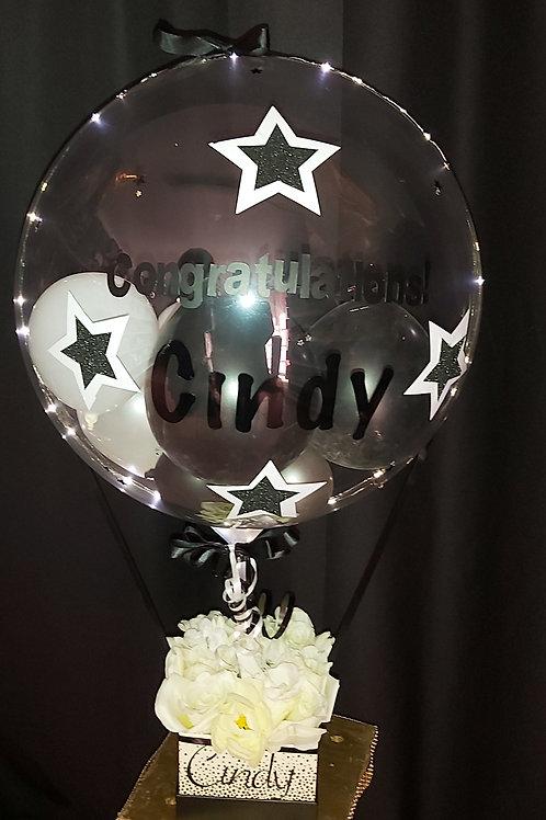 Clear Lighted Flower Congratulation Bouquet
