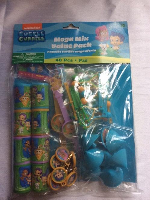 Bubble Guppies 48pcs set