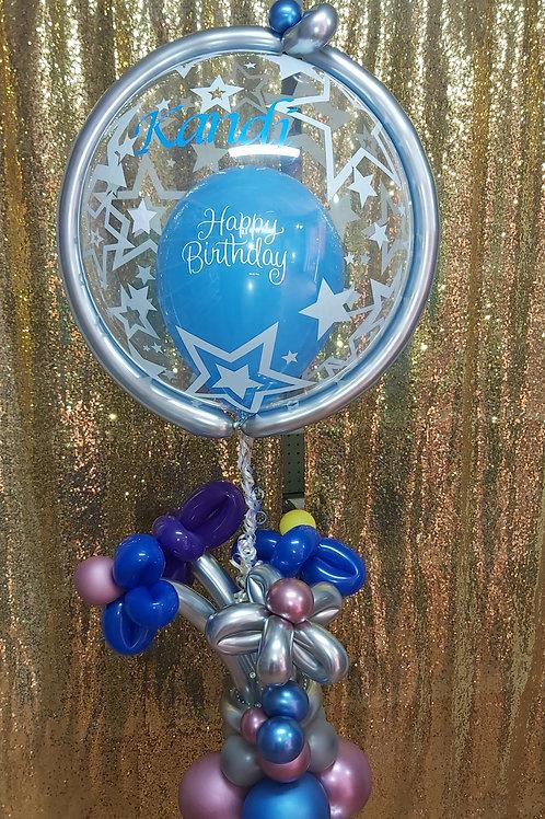 Bubble Birthday Arrangement