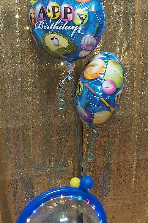 Personalize Themed Balloon bouquet