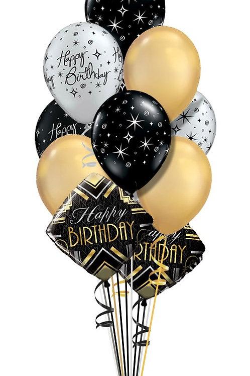 10 Birthday Balloon Arrangement