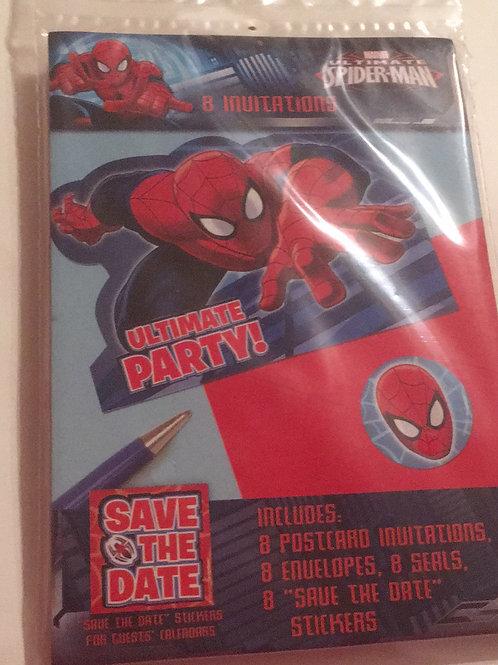 Spider-Man invites
