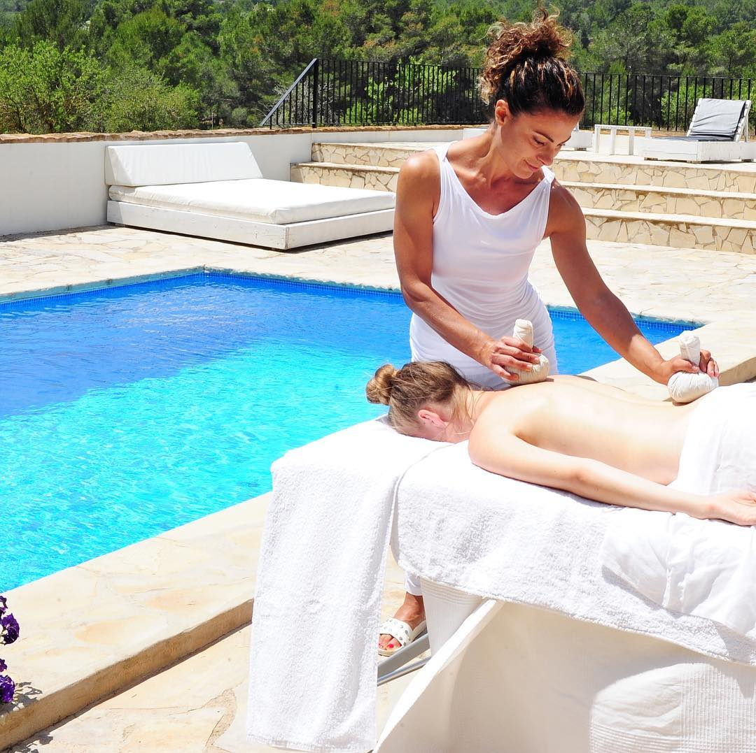 Ibiza Luxury Massage in Villa