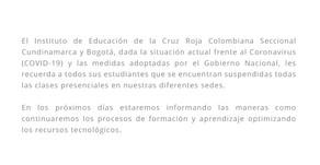 COMUNICADOS EDUCACIÓN