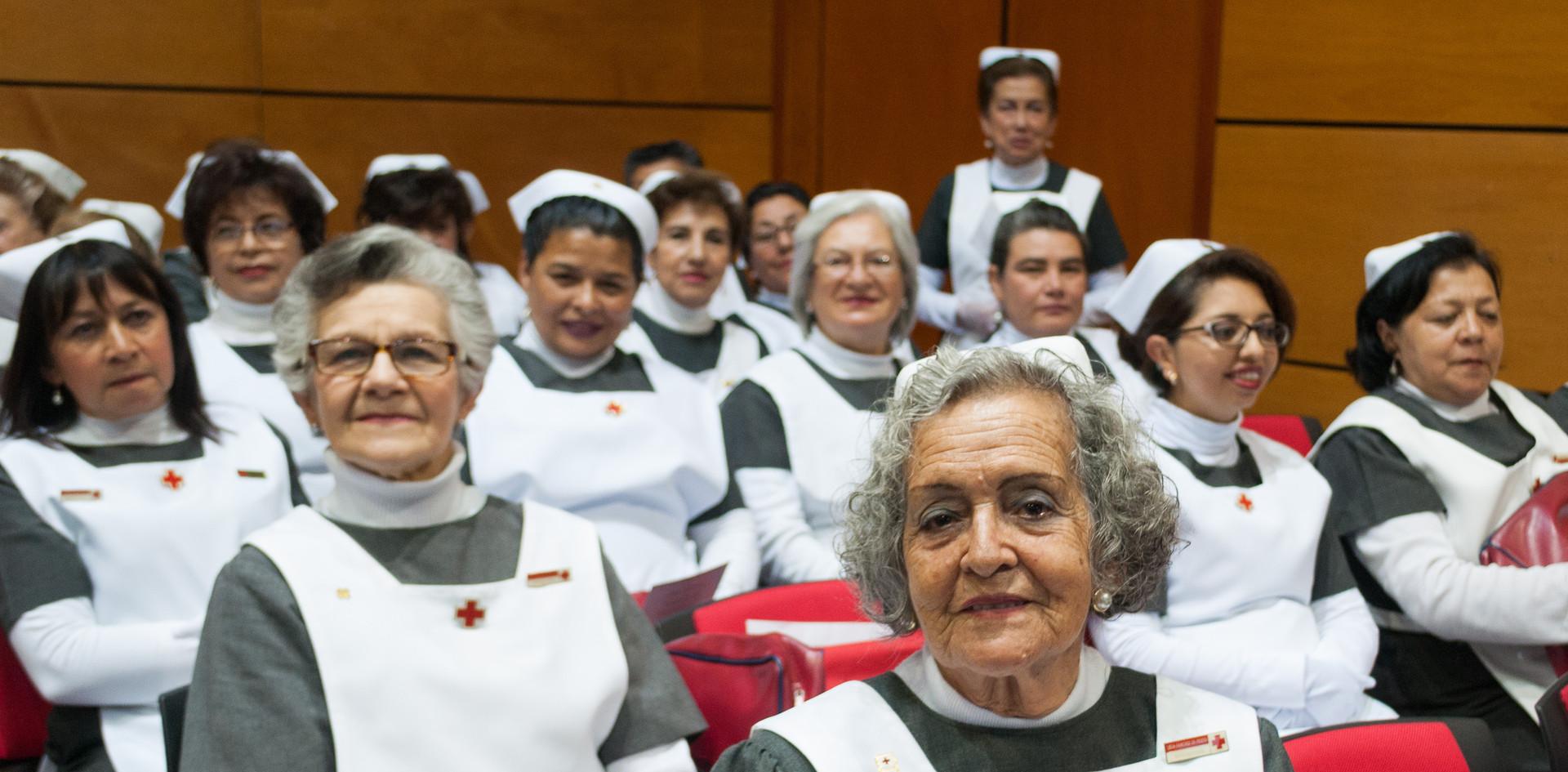 Agrupación damas grises