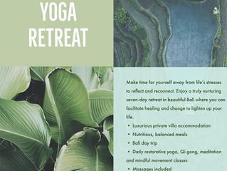 September Bali Retreat