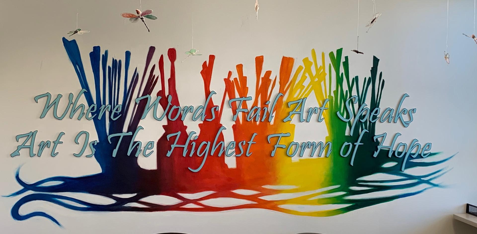 RCHC Art Room Quote