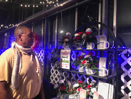 Cups of Kindness Displayed at Northgate Greenhouses!