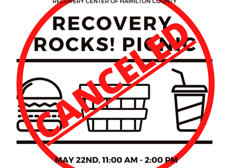 May 2020 Recovery Rocks Picnic has been canceled.