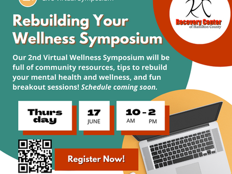 Rebuilding Your Wellness, Virtual Symposium is on Thursday, June 17th at 10AM!