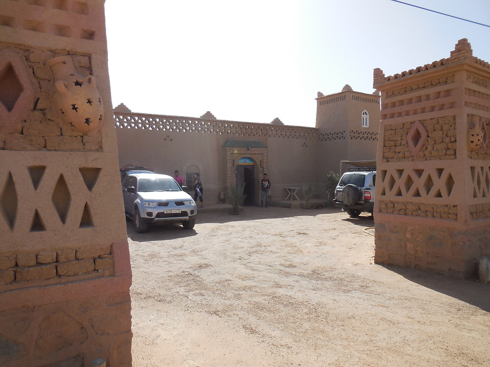 Our guesthouse in Merzouga