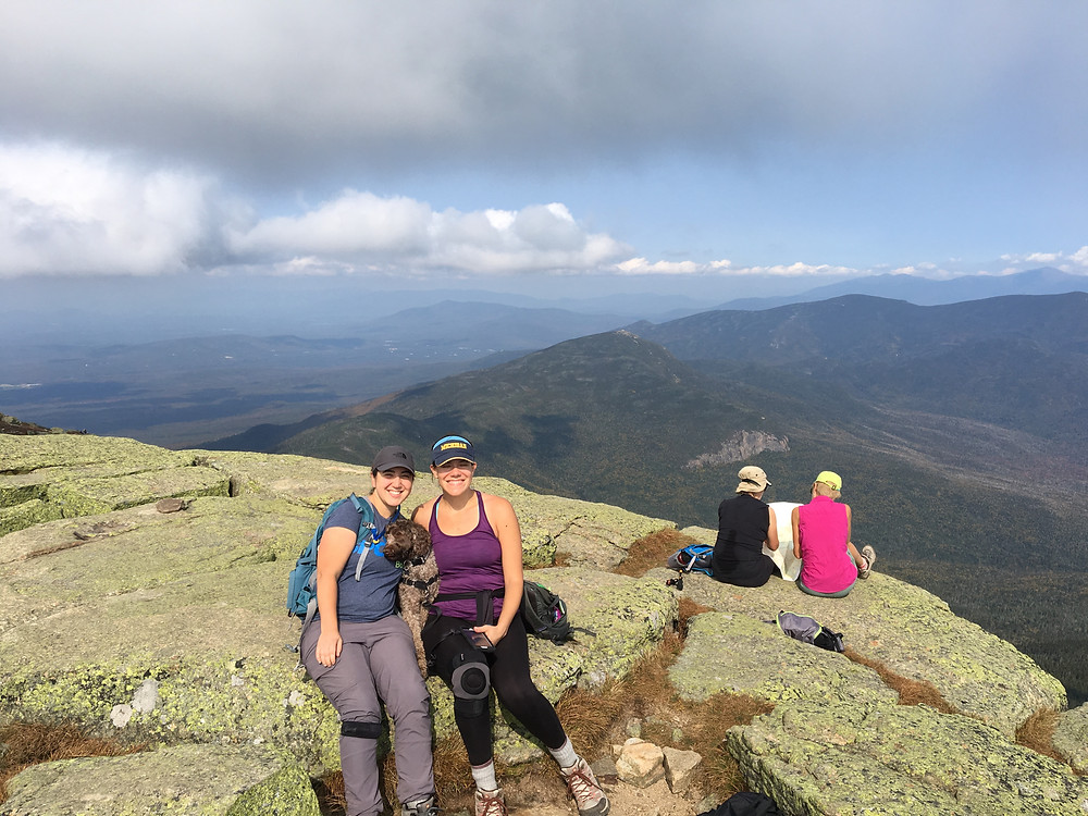 The top of Mount Lafayette. Stunning views all around.