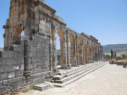The ancient Roman city of Volubilis