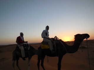 An overnight trek into the Sahara Desert - an experience of a lifetime
