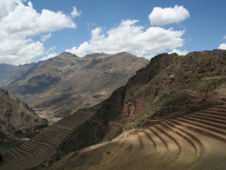 Touring the Sacred Valley near Cusco, Peru