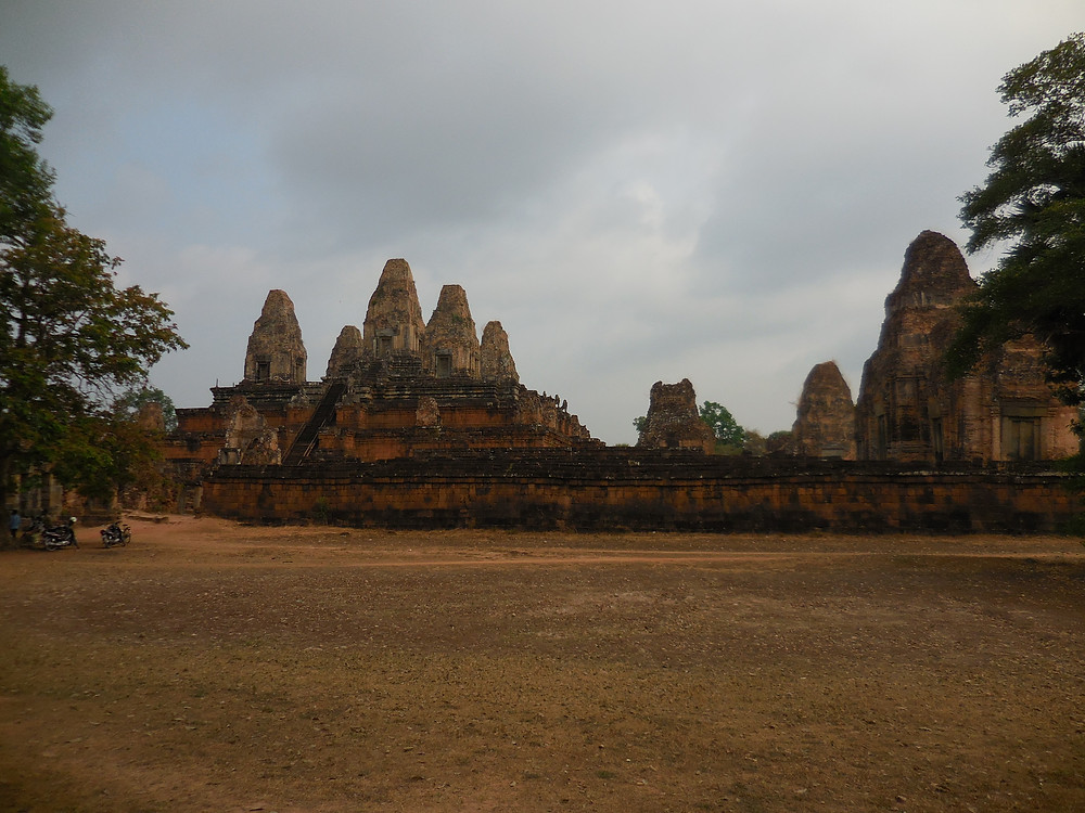 Pre Rup is a temple mountain style built in the 10th century