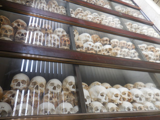 A visit to the Killing Fields at Choeung Ek and the Tuol Sleng Prison in Phnom Penh