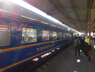 Getting from Cusco to Aguas Calientes - the gateway to Machu Picchu