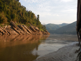 A trip down the Mekong River, in Laos, from Houay Xai to Luang Prabang