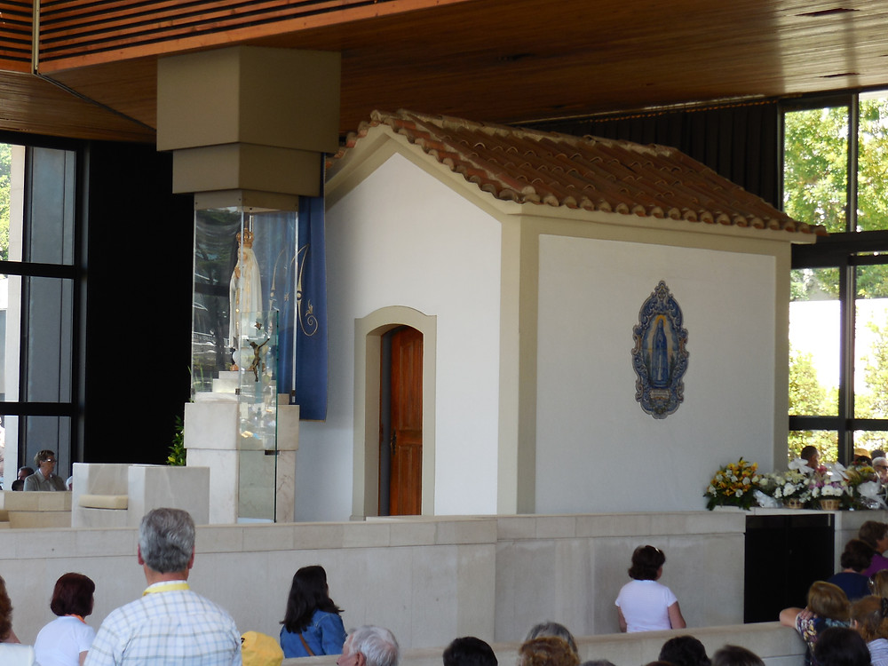 The Chapel of the Apparitions was built shortly after the Apparitions as requested by Our Lady