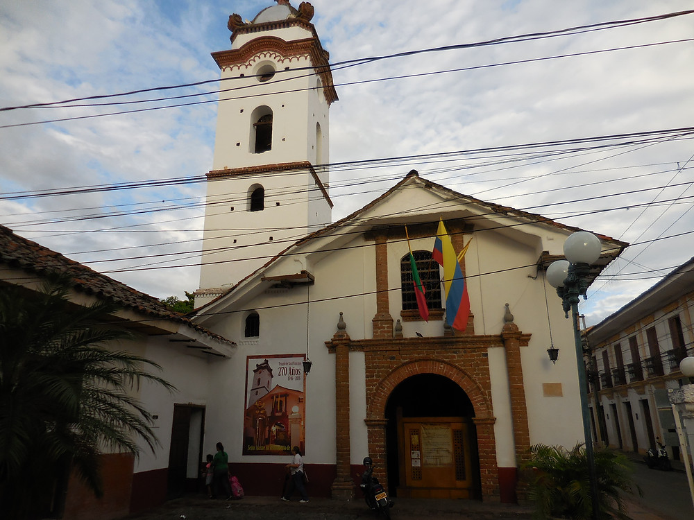 Iglesia San Francisco is a small and simple church