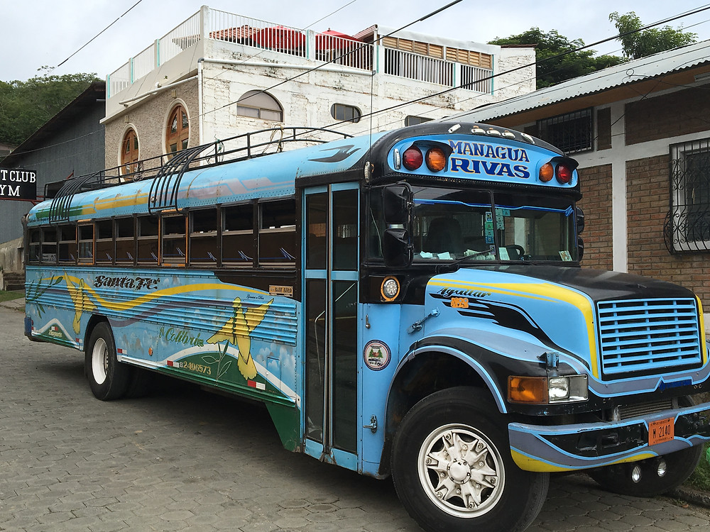 The local bus that goes between SJDS and Rivas