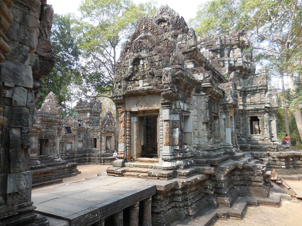 Chau Say Tevoda, recently restored, is a good temple to walk through