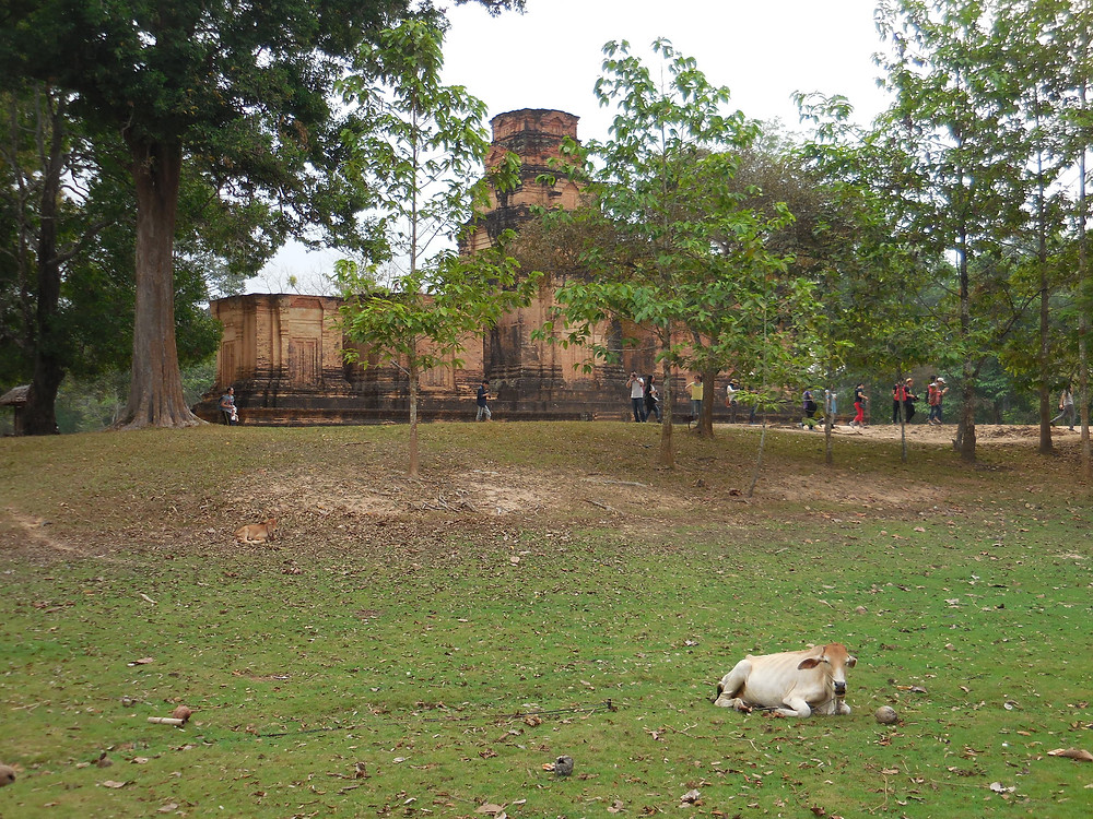 Prasat Kravan, as it's known, was built in the early 10th century as a Hindu temple