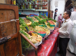 One of the merchants in Fes' medina