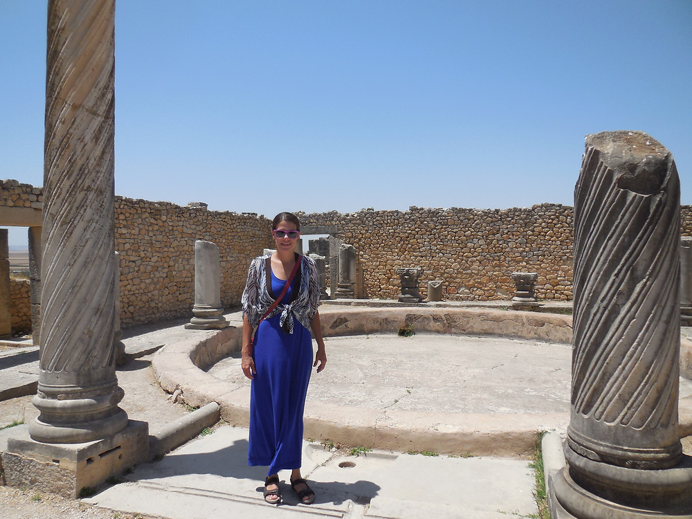 Inside one of the houses of Volubilis