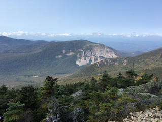 Franconia Ridge Trail Loop - a challenging all day hike in the White Mountains of New Hampshire