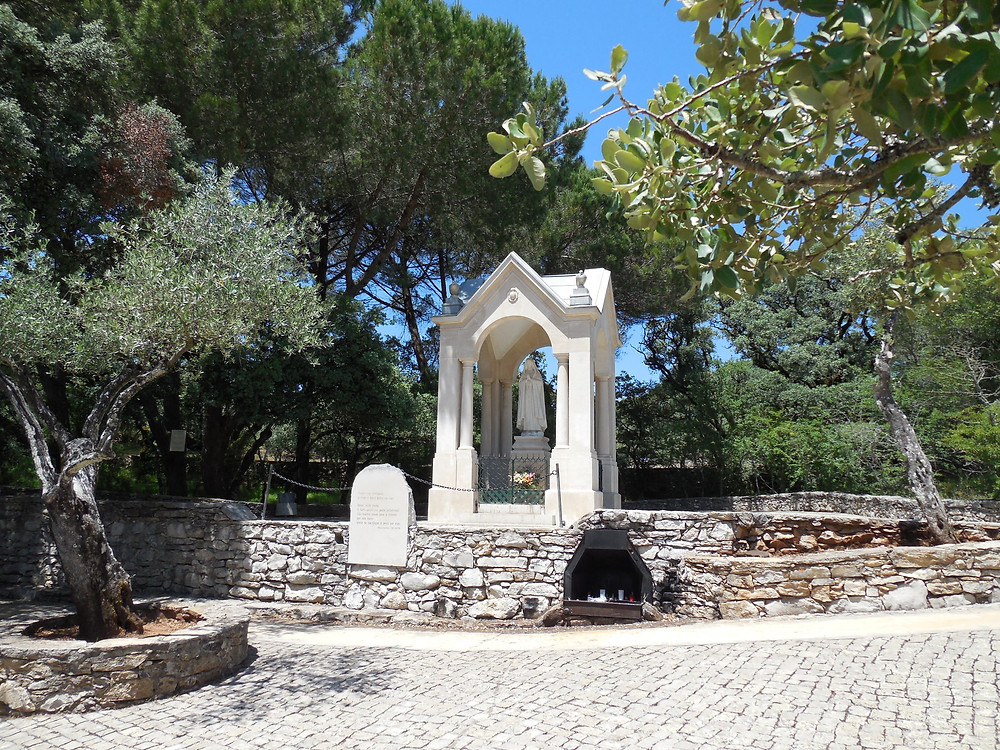The site at Valinhos where Our Lady appeared to the children on August 19, 1917