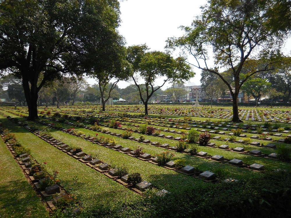 Don-Rak war cemetery where 7k Allied POWs are buried