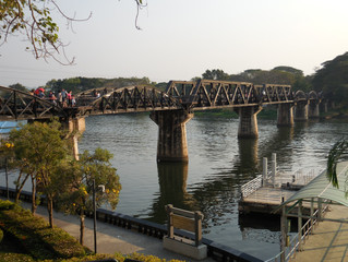 A visit to the Bridge over the River Kwai (near Kanchanaburi, Thailand)