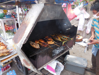 Street food - is it safe to eat? An example from Krabi, Thailand