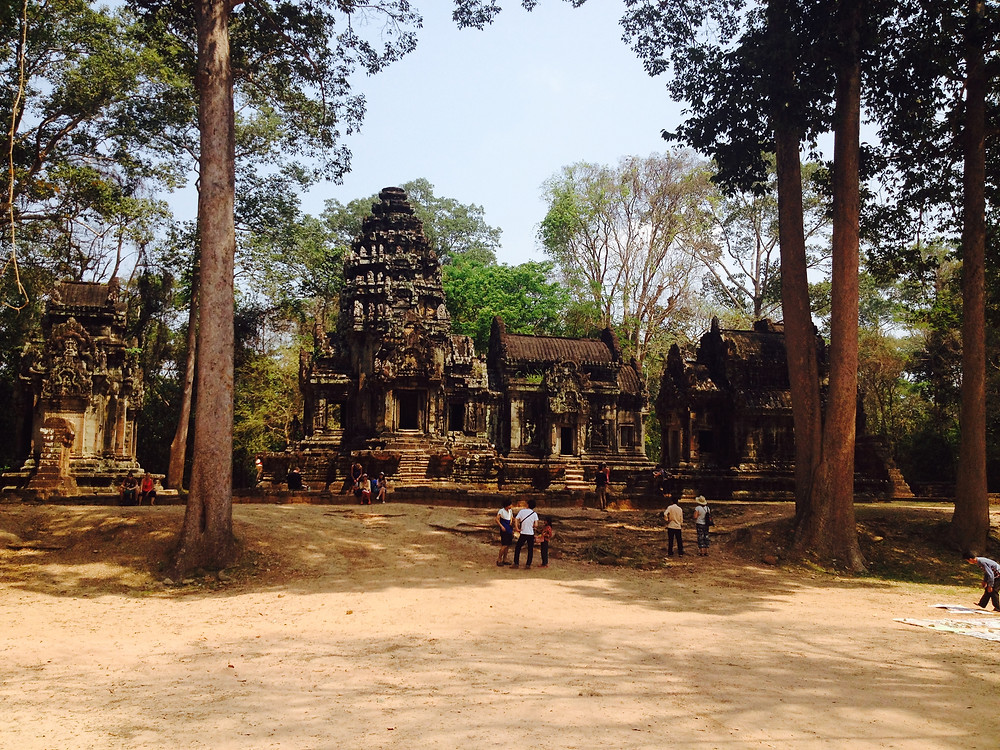 Thommanon is located right next to Chau Say Tevoda. Both are recently restored and a great place to visit with the low number of visitors.