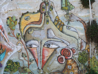 Valparaiso's graffiti and street art - it's creative, fun and worth a look