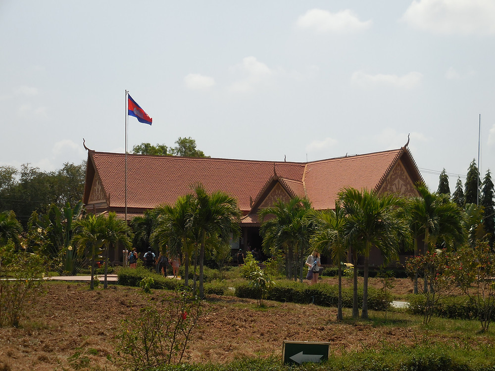 The Choeung Ek Genocidal Museum is located next to the killing fields