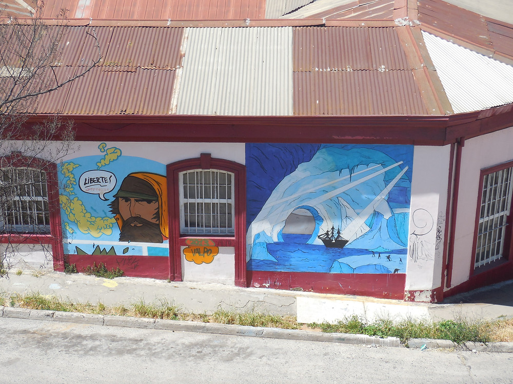 The graffiti art of Valparaiso