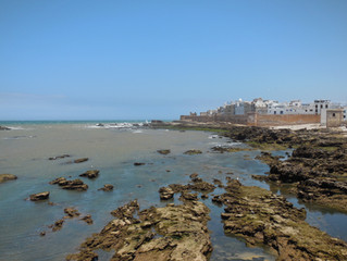 The coastal city of Essaouira - a relaxing spot in hectic Morocco