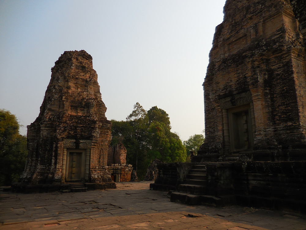 The upper level of East Mebon temple