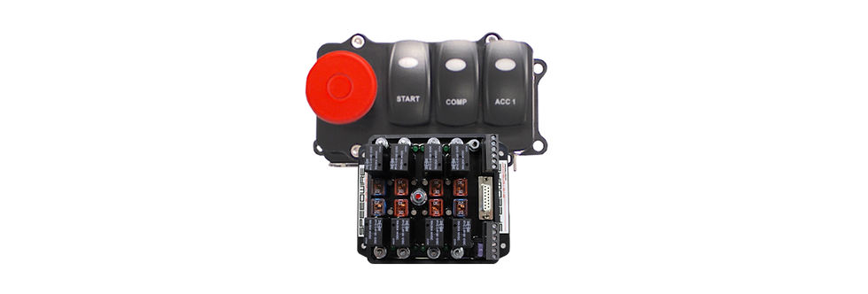 SPEEDWIRE 8-RELAY CONTROLLER &  3 SWITCH PANEL